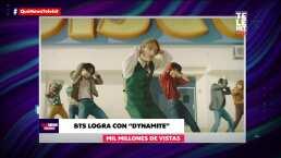 BTS logra con 'Dynamite' mil millones de visitas e impone nuevo récord mundial