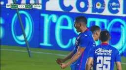 ¡Cruz Azul se sacude maldiciones! Luis Romo marca el 1-3 ante Tigres