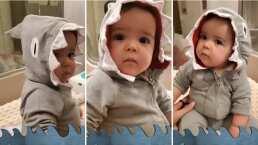 ¡Alerta ternura!: Hija de Claudia Álvarez se disfraza de tiburón y enamora a todos