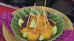 Cocina de hoy: Ricas paletas de mango hechas en casa con chamoy de jamaica