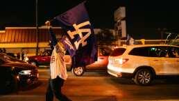 ¡Se descontroló! Fans tomaron las calles de Los Ángeles en festejos