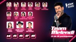 ¡El Team Melendi está por completarse! Conoce a sus nuevos integrantes