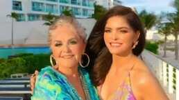 Ana Bárbara rompe en llanto tras emotiva despedida de su mamá: 'Vivimos cosas hermosas'