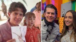 Mira cómo lucía de pequeña Nina Rubín Legarreta junto a Nino Canún cuando era productor de 'HOY'