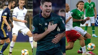 Resumen de los resultados de las eliminatorias rumbo a la Euro 2020.