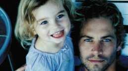 'Nunca pensé que compartiría esto': Hija de Paul Walker recuerda a su padre con emotivo video