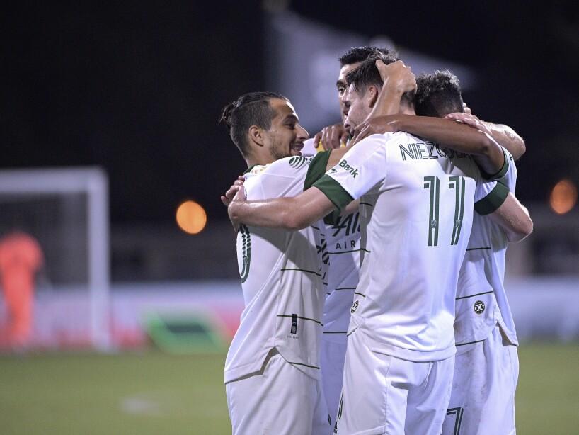MLS LAFC Portland Timbers Soccer