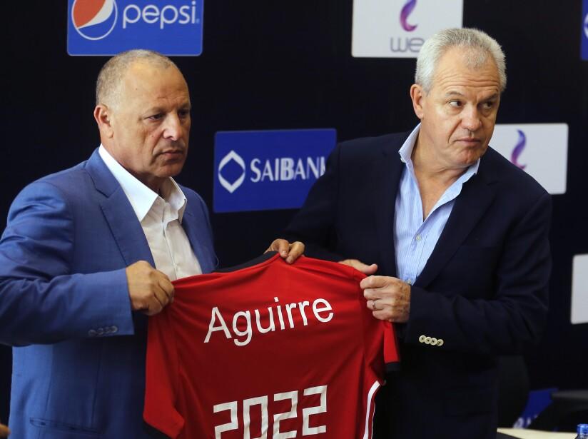 Javier Aguirre, Hany Abo Rida
