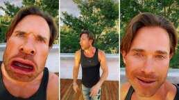'Soy como un caracol': Sebastián Rulli presume a sus seguidores su nuevo 'ta-lento'