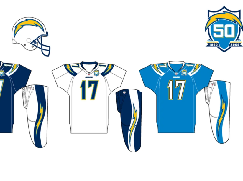 Uniforme Chargers 2009.png