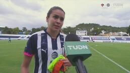 """Daniela Solís: """"Monterrey siempre luchará por los primeros lugares"""""""