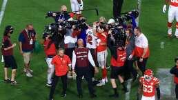 Mahomes y Kelce se rinden ante Brady tras ganar Super Bowl LV