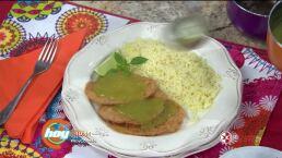 Receta de HOY:¡Tortitas de atún en salsa verde!