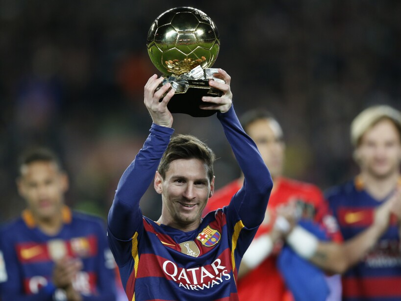 Spain Soccer Golden Ball Messi