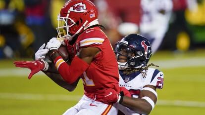 Houston le trata de hacer pelea a los Chiefs, pero el ataque de los de los Jefes de Kansas es algo imparable.
