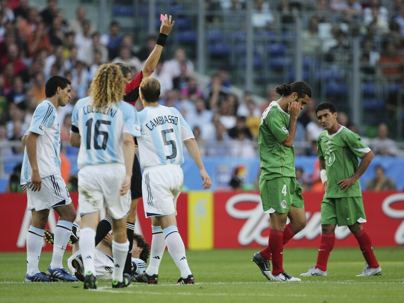 FIFA Confederations Cup Semi Final Mexico v Argentina
