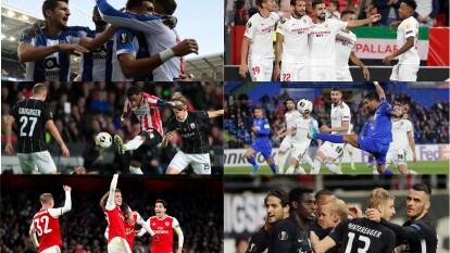 Este jueves 24 de octubre de 2019, se vivió la tercer jornada de Europa League.