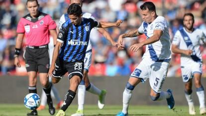 Querétaro se confió y Puebla sacó un punto de la Corregidora en el minuto 90.