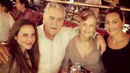 Kate y Verónica del Castillo envían emotivos mensajes a su padre Eric del Castillo por su cumpleaños