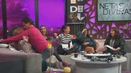 Jorge Aravena saca su lado sensual y le baila a Daniela Magun