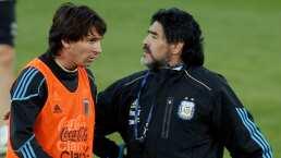 Lionel Messi manda mensaje a Maradona tras su operación