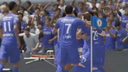 Santi 'Chaquito' Giménez ganó los primero tres puntos para los cementeros en la eLiga MX tras derrotar 2-1 a Xolos.   Miguel Barbieri cayó en su visita al 'Coloso de Santa Úrsula' y la afición del Cruz Azul se ilusiona de nuevo en el futbol virtual.