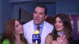 ¡Eduardo Santamarina y Mayrín Villanueva por primera vez juntos en Vecinos!