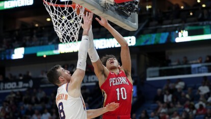 New Orleans Pelicans 132-139 Phoenix Suns