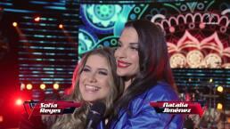 Sofía Reyes y Natalia Jiménez, las más cool de La Voz.. México