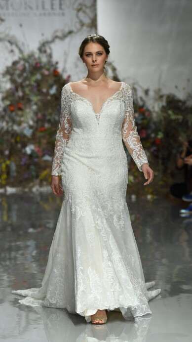 14 Tendencias de vestidos que toda novia está buscando en 2019