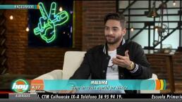 En exclusiva Maluma confiesa su amor por México