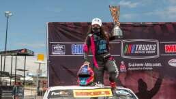 Regina Sirvent hace historia en las NASCAR Trucks