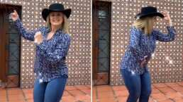 'Bailemos': Erika Buenfil pone a bailar a sus seguidores con sabrosos pasos de cumbia