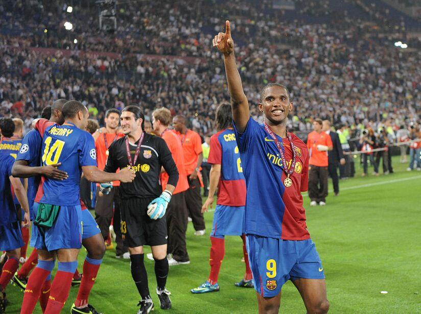 Barcelona´s Cameroonian forward Samuel E
