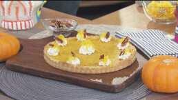 ¡Delicioso postre de Halloween!: Te enseñamos a preparar 'Tarta de calabaza'