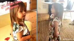 Kailani es una pequeña fashionista: Con tan sólo dos años ya está obsesionada con los vestidos