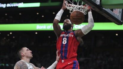 Todos los resultados del 15 de enero. | Boston Celtics 103-116 Detroit Pistons