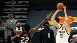 Cardiaco triunfo de Nuggets sobre Suns en tiempo extra