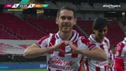 ¡Con puro corazón! Brizuela lucha y Angulo marca el 1-1