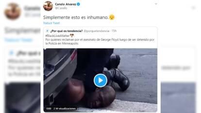 Las protestas del mundo del deporte | Gorge Floyd fue detenido por intentar pagar con un billete falso de veinte dólares. Falleció en un hospital minutos después de su aprehensión.
