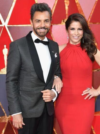 Alessandra Rosaldo y Eugenio Derbez se casaron en 2012 tras seis años y medio de relación. Sin embargo, antes de su boda, la cantante protagoniza varias telenovelas al igual que Victoria Ruffo, expareja del comediante.