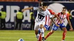 Felipe Mora, cerca de dejar Pumas para ir a la MLS