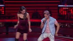 El reggaeton se apodera de Jacky en el escenario