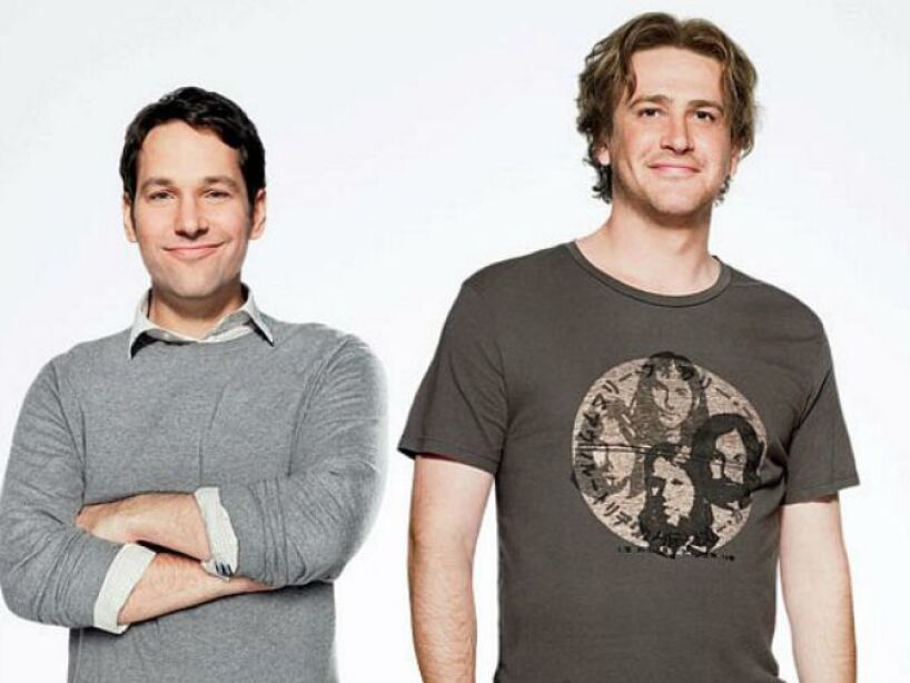 17. Paul Rudd y Jason Segel: Tal y como dice su película I Love You, Man!, estos actores ¡se aman!