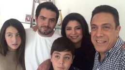 ¿Celos de hijo único? José Eduardo Derbez cuenta qué pasó cuando Victoria Ruffo formó una familia con Omar Fayad
