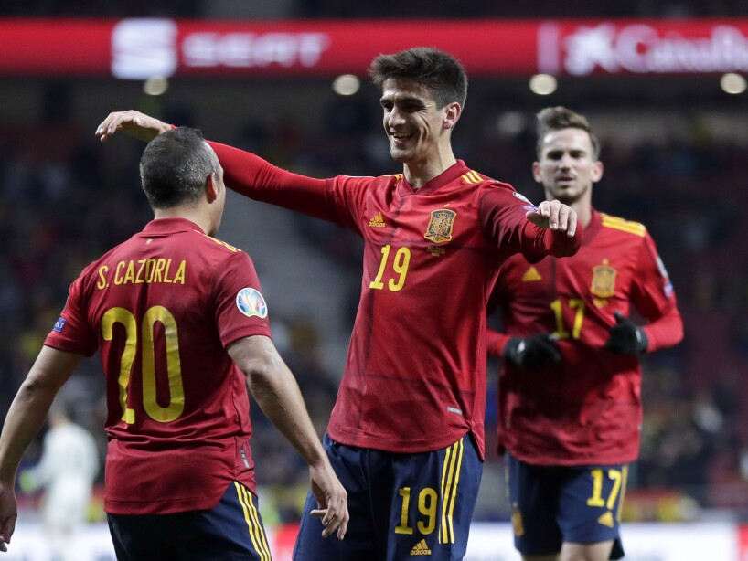 Spain Romania Euro 2020 Soccer