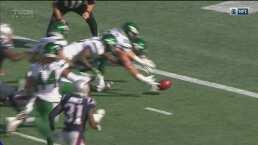 Jets logra su primer touchdown del juego