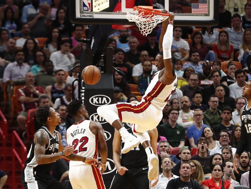 Miami Heat 106-100 San Antonio Spurs