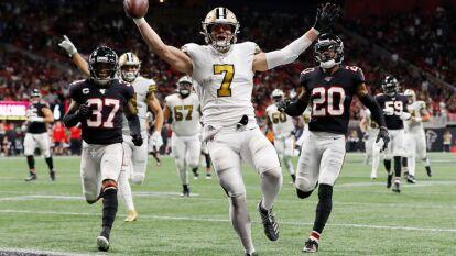 Tras vencer a los Falcons 26-18, en el último partido de la jornada de Acción de Gracias, son el primer equipo en clasificarse a playoffs.