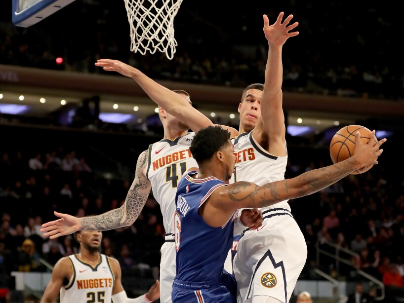 Denver Nuggets v New York Knicks